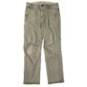 Kuhl Mens Slcakr Khaki Pants Size 34 x 34